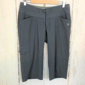 Mountain Hardware Gray Crop Capri Pants Nylon